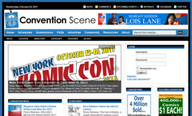 Convention Scene Website