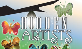 Hidden Artists Postcard/Poster