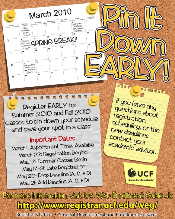 UCF Multi-Term Registration Poster