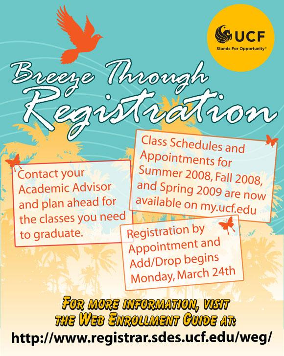 Registration Poster 2008