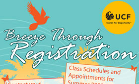 UCF Multi-Term Registration Poster (2008)