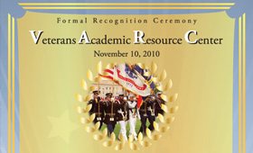 UCF-VARC Recognition Ceremony Invitation