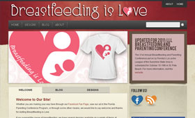 Breastfeeding is Love Website