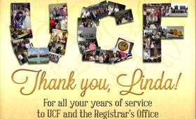 UCF Registrar's Office Collage Poster